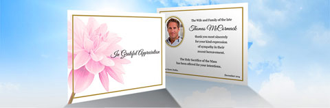 Order Double Sided Acknowledgement Cards