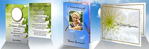 Free Memorial Card Designs