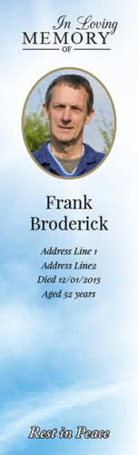 Bookmark - front