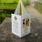 Memorial card MP31Order Here