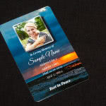 Dark themed scenic wallet card Order Here